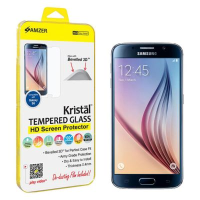 "Kristalâ""¢ Tempe Glass HD Screen Protector for Galaxy S6 SMG920F"