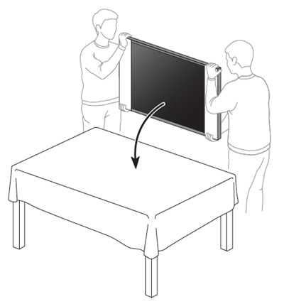 TV stand is loose